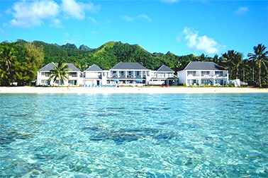 Simply Paradise! #muribeachclubhotel #cookislands #holiday #beach