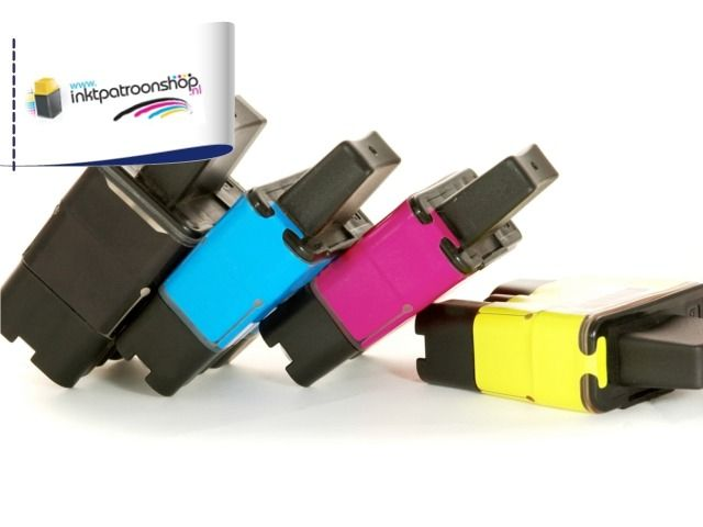 Compatible cartridges met 10 inktpatronen per set voor bijna alle Brother, Canon & Epson printers - TicketVeiling.nl