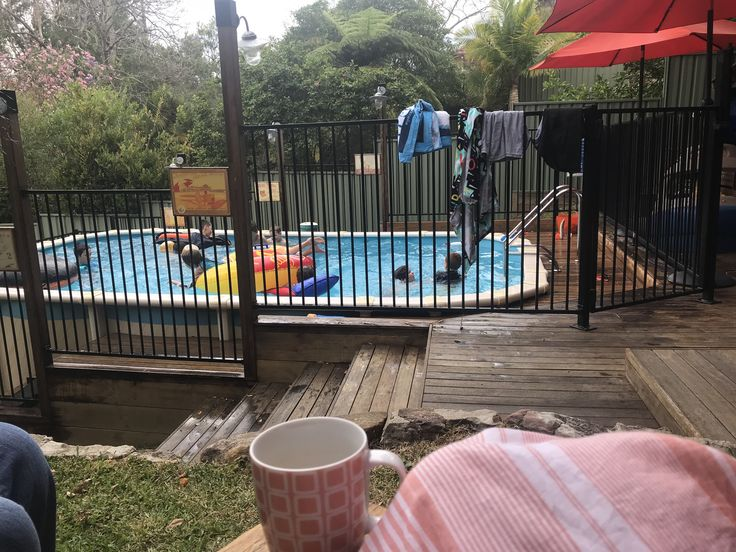 My view of the pool