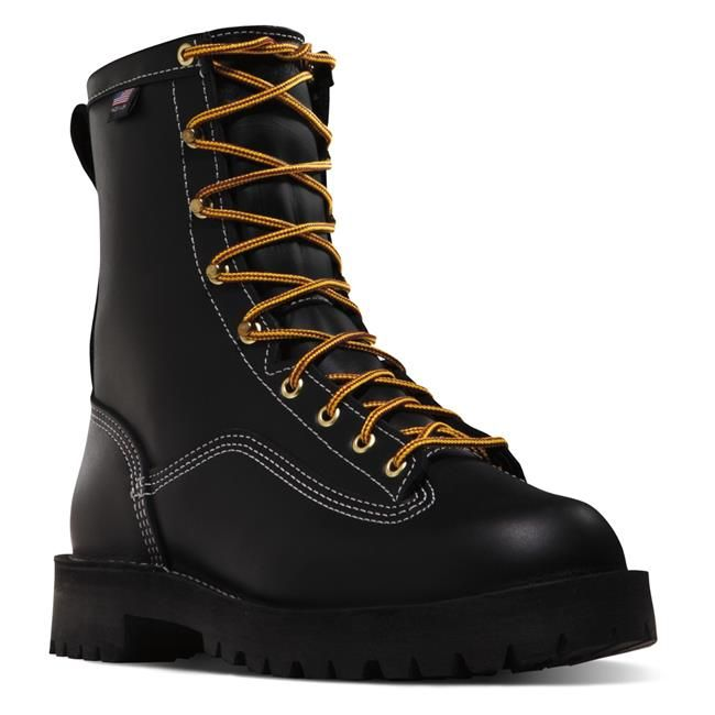 <ul><li>Weight: 80 oz.</li><li>Made in the USA.</li><li>GORE-TEX lining for the ultimate in comfortable, breathable waterproof protection</li><li>Vibram 132 Montana outsole features lugs that are angled to provide substantial support whether ascending and descending. The center lugs combined with the unique Vibram rubber compound provide maximum traction on wet and dry surfaces.</li><li>Stitchdown construction provides a wider platform for increased stability underfoot.</li><li>Black…