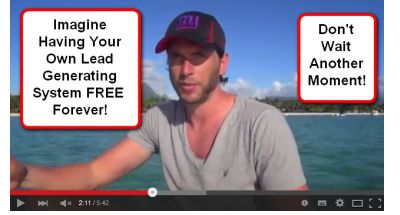 Get Your Own Free Lead Generating System Right Now!