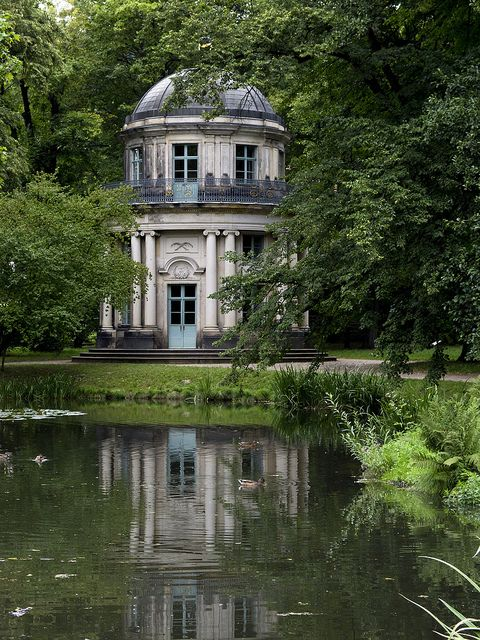 "Schloss Pillnitz Dresden, Germany  - ""English"" pavillion in the english gardens (1778-80, by Johann Daniel Schade)"