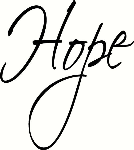 Hope  Wall design, quote, art, home decor, sticker, decal, for house, office, car, truck, bumper, tailgate, device, phone, computer, laptop, window, door, wall, or any smooth surface. Starting at: $1.75