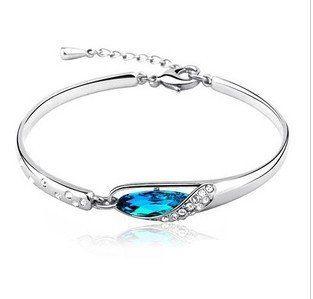 Fashion Shiny Diamond elegance Bracelet Glass Shoe Charm Bracelet Y288 9.5-in Special Store from Jewelry on Aliexpress.com