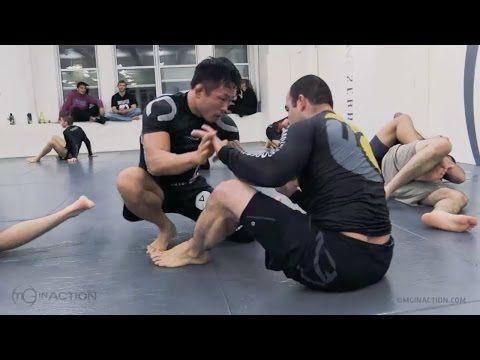 MMA Fighter Doo Won 'KOREAN PITBULL' Seo with Marcelo Garcia - YouTube