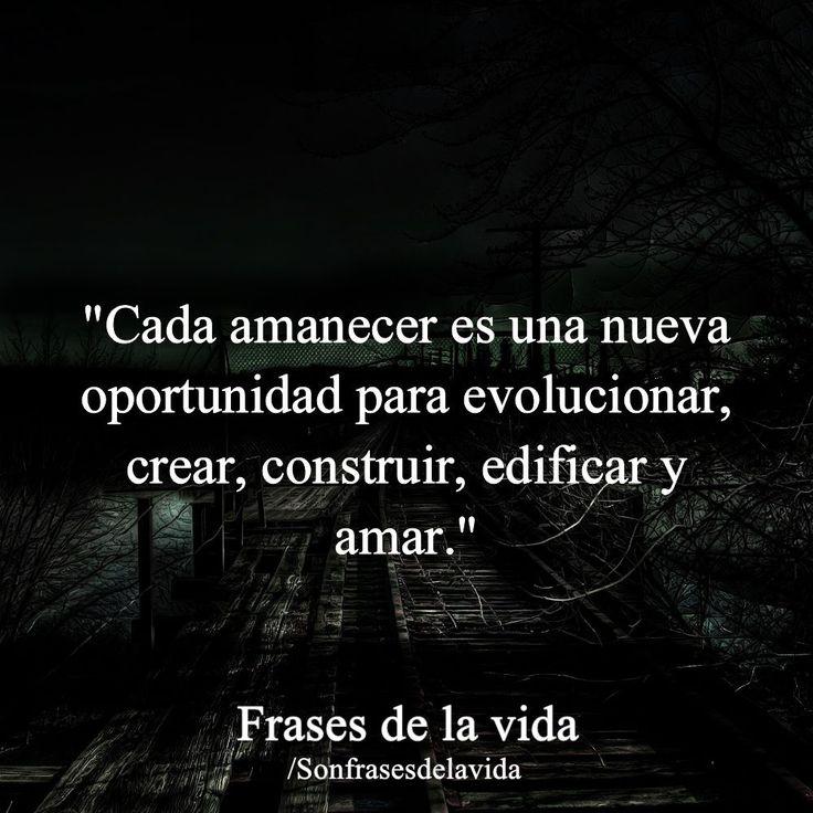 Cada amanecer #reflexionesdevida