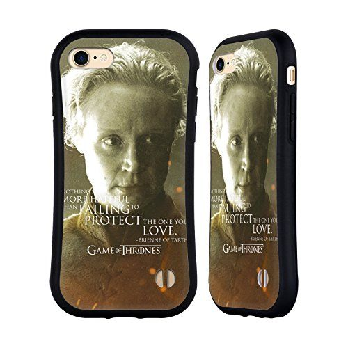 Official HBO Game Of Thrones Brienne Of Tarth Character Portraits Hybrid Case for Apple iPhone 7