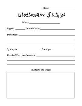 These are GREAT to include in your literacy centers/workstations.  The dictionary skills require the kids to use dictionaries, learn new words, not...   # Pinterest++ for iPad #