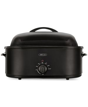 Bella 14581 24-Lb. Electric Turkey Roaster  - Black
