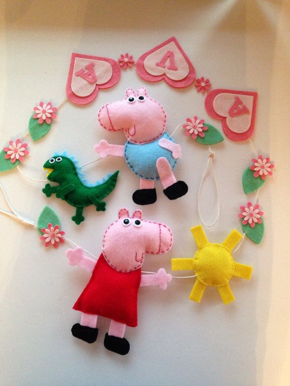 Hey, I found this really awesome Etsy listing at https://www.etsy.com/listing/192953919/inspired-by-peppa-pig-girls-boys-bedroom
