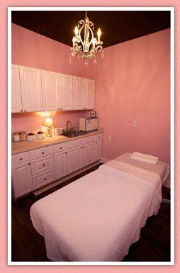 Rosa Nägel, Spa Dekoration, Schönheit, Facial Makeup Room, Salon Facial,  Facial Rooms, Pink Nail Salon, Spa Quality, Quality Nail