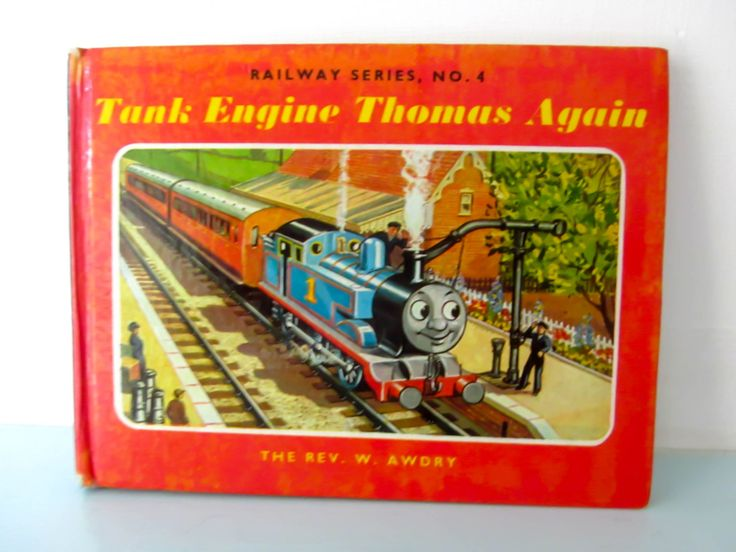 Thomas the tank engine vintage book, Tank engine Thomas again book, 1970s thomas book, Thomas book, by thevintagemagpie01 on Etsy
