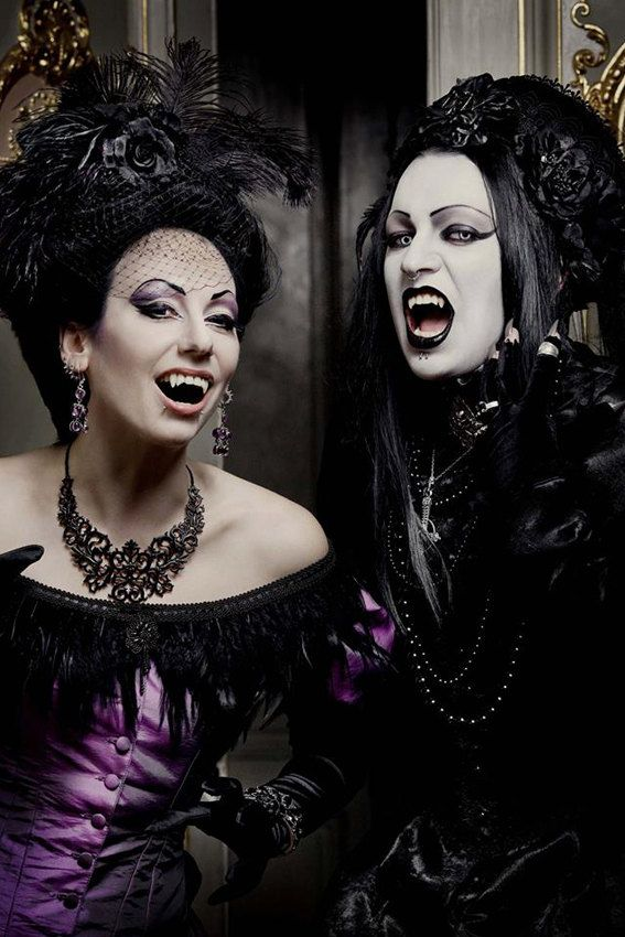 Victorian Vampire Ball Gown Gothic Masquerade by AliceCorsets