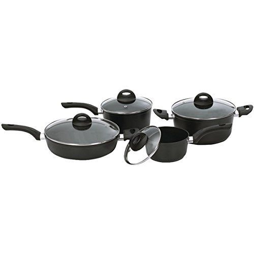 Starfrit Aroma 8 Piece Cookware Set >>> Find out more details by clicking the image : Cookware Sets
