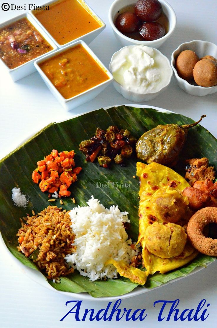 Andhra ugadi meals andhra thali indian thali from for Andhra cuisine dishes