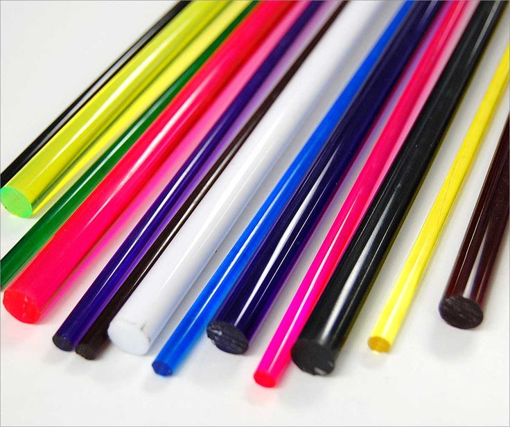 Colored Acrylic Rods for lite brite pegs