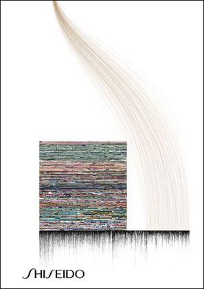 John Maeda, 'Shisheido Commemorative Poster', 1993. Offset lithograph via MOMA