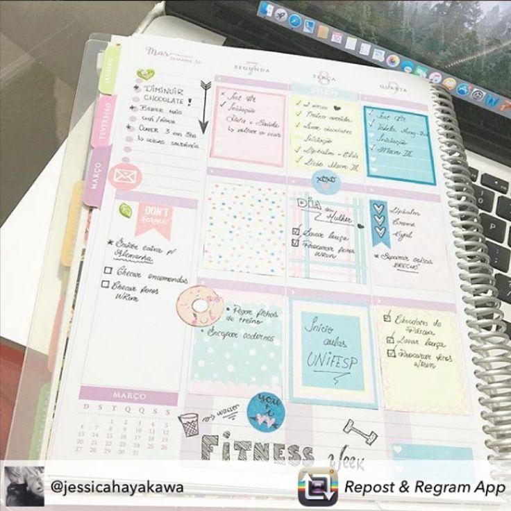 É muito divertido decorar seu Daily Planner... #meudailyplanner #dailyplanner…
