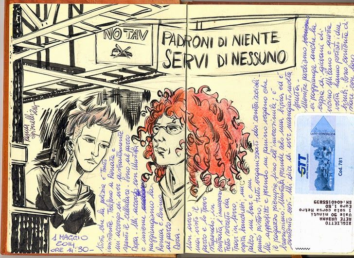 Laura Spianelli,fumetti e illustrazioni
