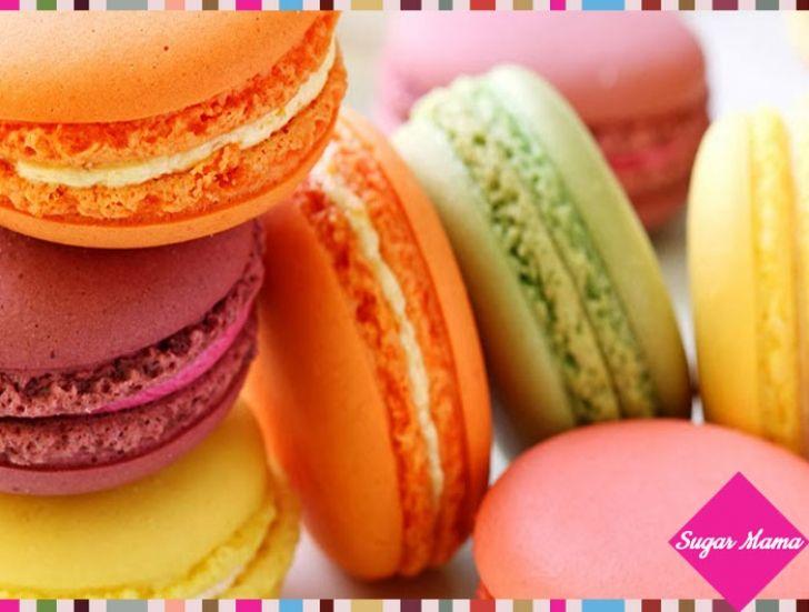 Macarons για πάρτι γενεθλίων!