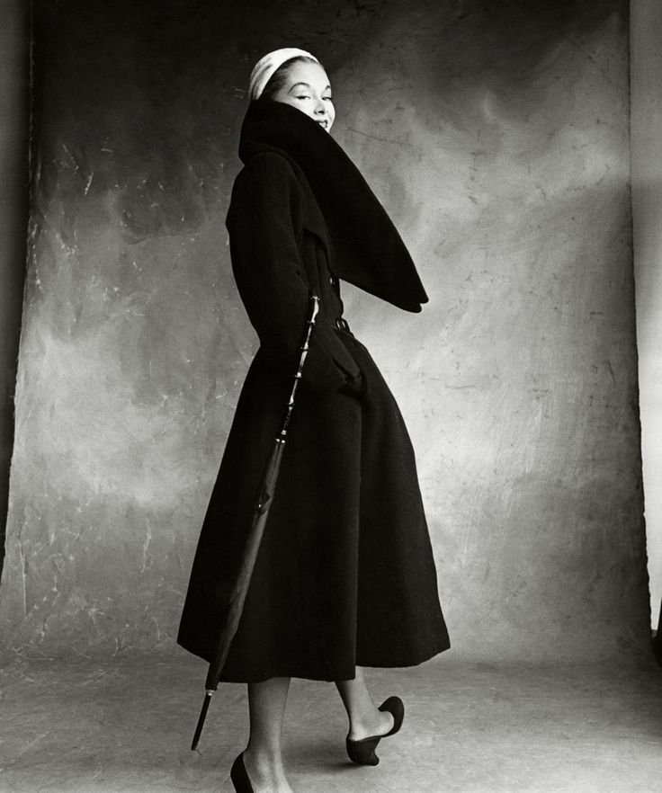 Lisa Fonssagrives-Penn in Dior | photography by Irving Penn | Vogue, 1950