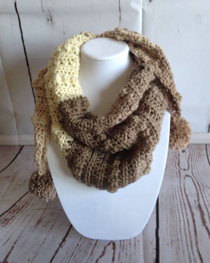 Brown Scarf - Scarf - Shawl - Crochet Scarf - Wrap Scarf - Crochet Wrap - Scarf Shawl - Crochet Shawl - Womens Scarves - Ladies Scarves by StephsFamilyStitches on Etsy https://www.etsy.com/ca/listing/519409849/brown-scarf-scarf-shawl-crochet-scarf