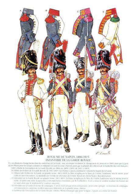 Granatieri della guardia reale del regno di Napoli