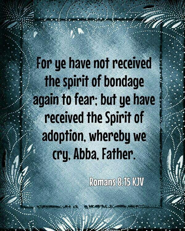 Romans 8:15 KJV