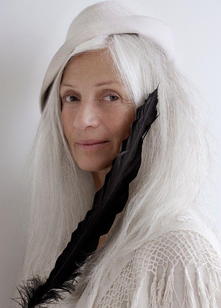 238 Best Grey Hair Flair Images On Pinterest