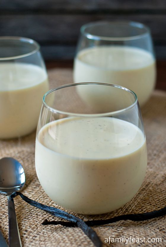 Greek Yogurt Panna Cotta - a rich, delicious and creamy dessert that is so simple to make.