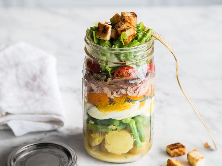 Salat Nicoise - Französischer Thunfischsalat to go