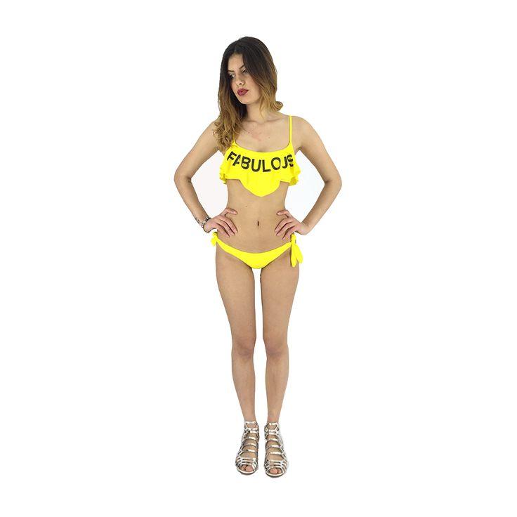 Bikini giallo fabulous 4Giveness