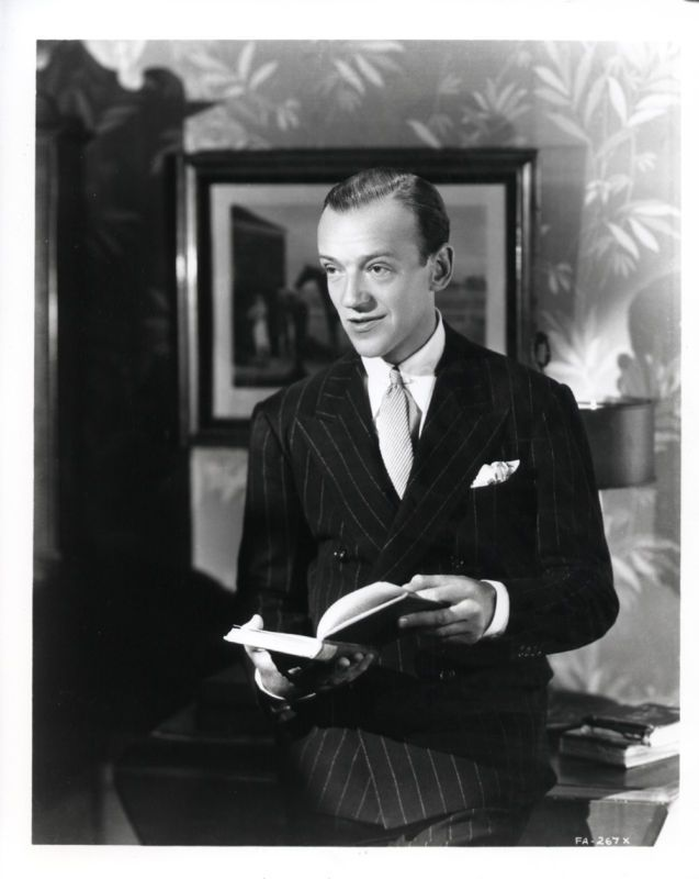 Fred Astaire, Old Hollywood Stars Reading