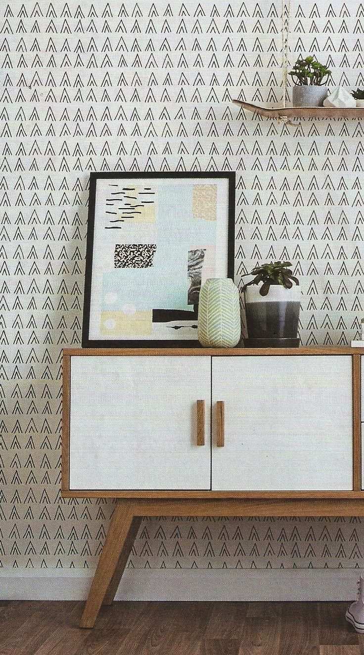Lily Fink MoneyPenny Collection - Woodland Wallpaper, Ivory in situ.