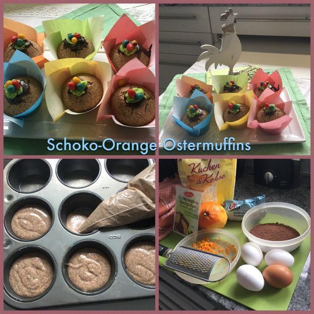 Schoko-Orangenmuffins für Ostern - Trudels glutenfreies Kochbuch, glutenfrei backen und kochen bei Zöliakie. Glutenfreie Rezepte, laktosefreie Rezepte, glutenfreies Brot