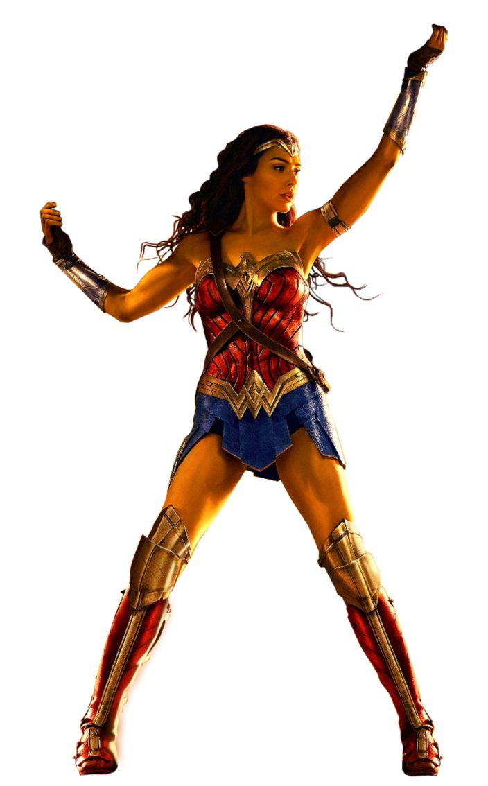This is a picture of Smart Wonder Woman Printable