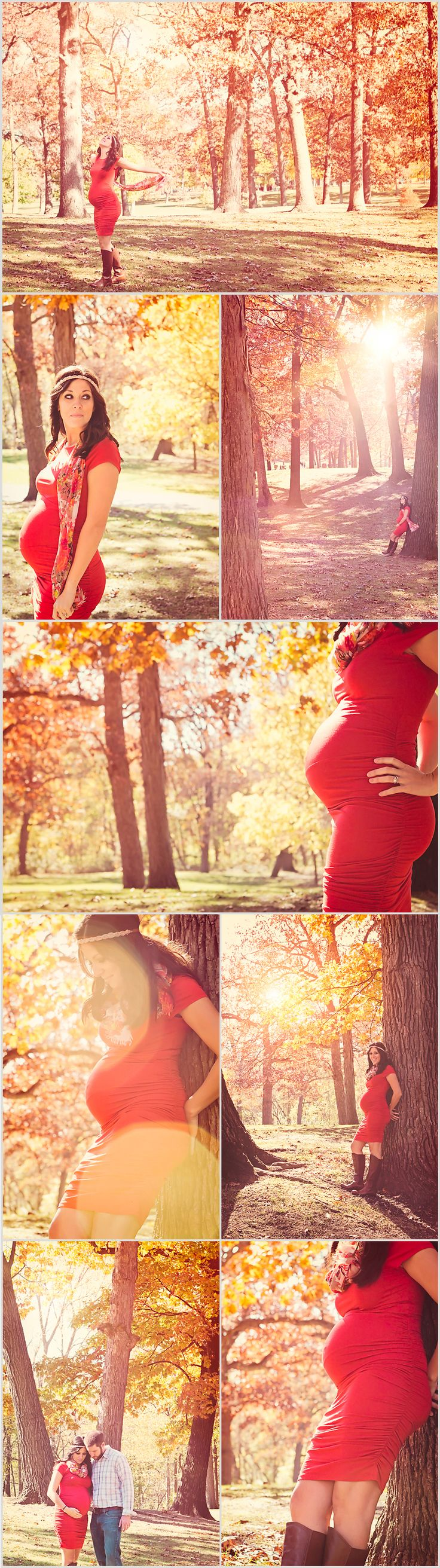 Fall Maternity Photos - Deanne Mroz Photography