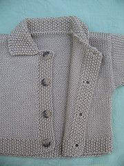 baby cardigan free pattern