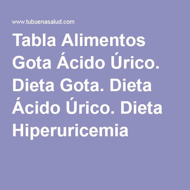lista de alimentos acido urico acido urico alto na gravidez dieta para acido urico