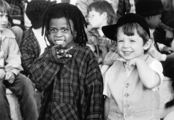 Zachary Mabry, Actor: Titles: The Little Rascals. People:  Ross Bagley, Zachary Mabry Characters: Buckwheat, Porky Photo by Universal Pictures - © 1994
