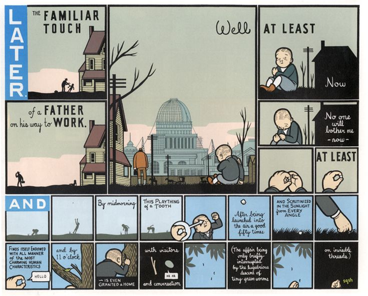 Viscom Year 1: Chris Ware - Jimmy Corrigan, the Smartest Kid on Earth