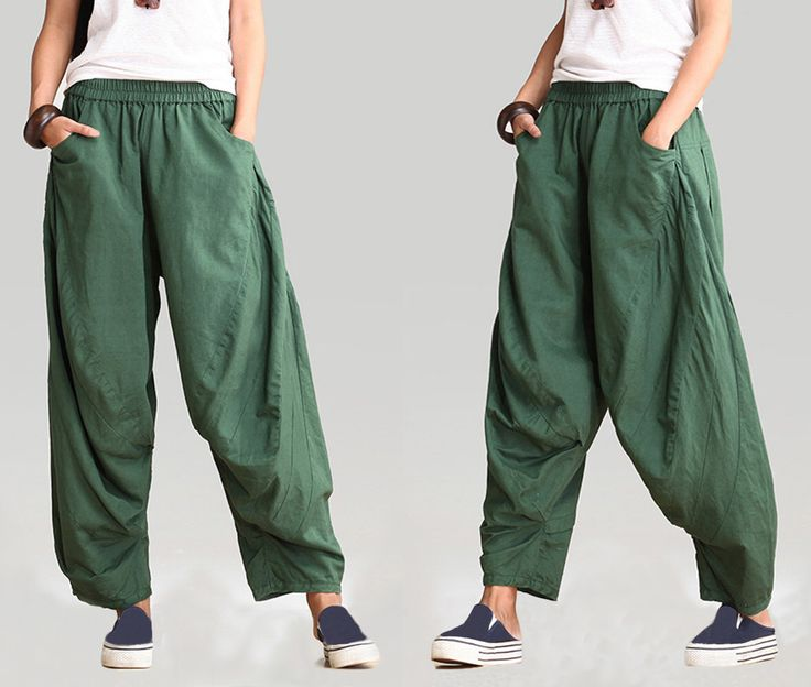 linen pants women/linen pants for women/women's wide-legged pants/green pants/black pants/women linen pants/ by babyangella on Etsy https://www.etsy.com/listing/233925839/linen-pants-womenlinen-pants-for
