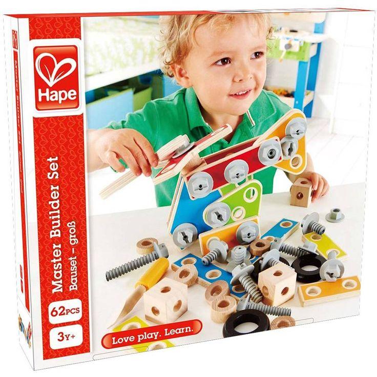 Jeu de construction le petit charpentier: ce kit de 62 pièces et connecteurs encourage les charpentiers en herbe à construire et à construire encore plus.Un mode de construction flexible qui permet aux enfants d'apprendre selon la...