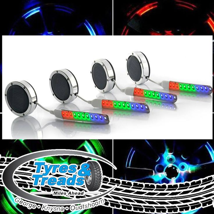 At Tyres & treads we like to share fun gadgets and accessories with you, have a look at this device we came across. These are solar powered LED lights for wheels, we like to get your opinions on the various items we find, what is your take on this one? #tyreservices #customcars #auto