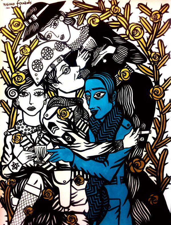 o-abraço-de-Picasso-e-Lampião