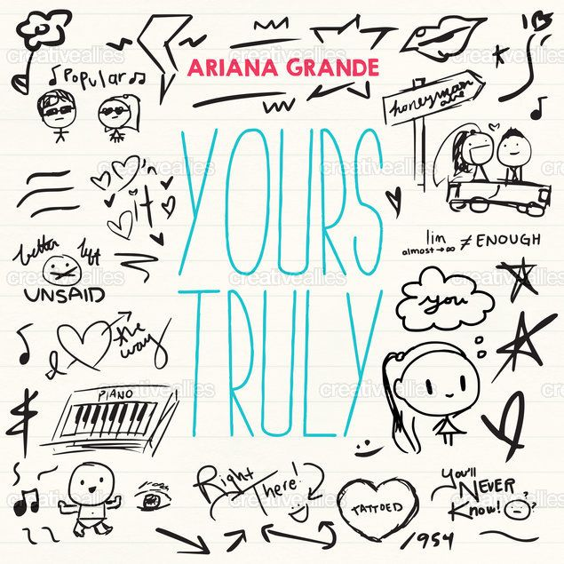 Ariana Grande Album Cover by Derrick Chang on CreativeAllies.com
