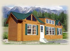 Lil lodges park model homes