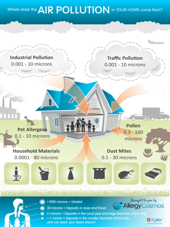 Indoor Air Quality can be 200500 more polluted than the