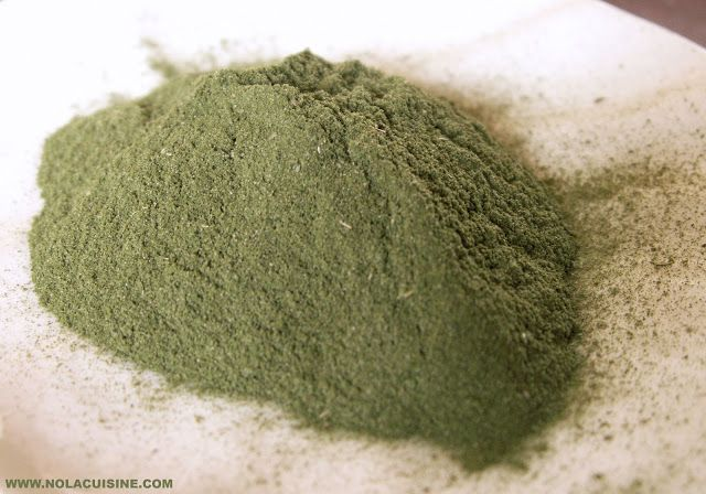 Homemade File' Powder | Nola Cuisine