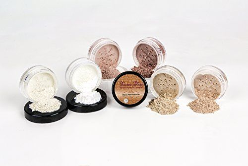 Mineral Makeup XL KIT Full Size Foundation Set Sheer Bare Skin Powder Cover (Fair 2) - http://essential-organic.com/mineral-makeup-xl-kit-full-size-foundation-set-sheer-bare-skin-powder-cover-fair-2/